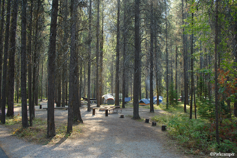 Glacier National Park Apgar Campground