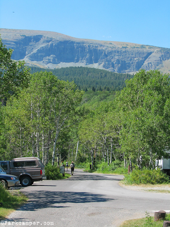 Glacier National Park St Mary Campground