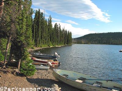 Yellowstone National Park Lewis Lake Campground