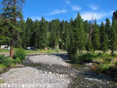 Yellowstone National Park Pebble Creek Campground