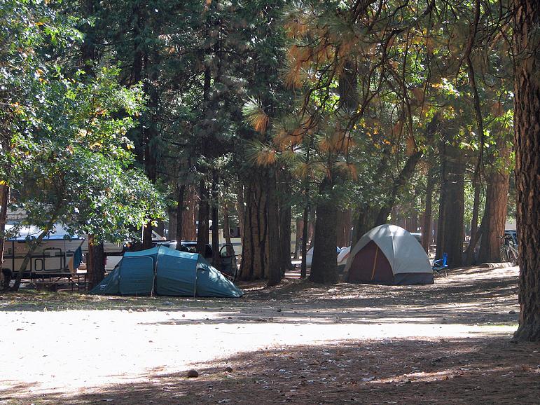 Yosemite national park yosemite creek campground for Yosemite park camping cabins