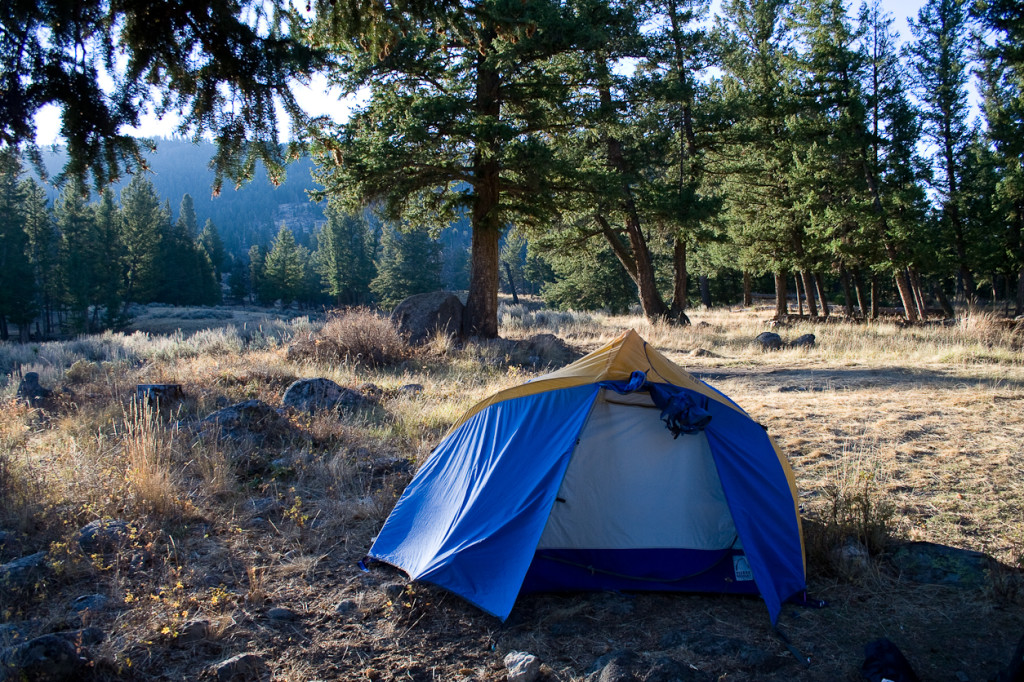 What S Wrong With Tent Camping In Yellowstone Parkcamper
