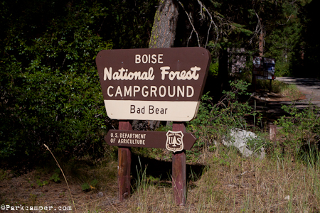Boise National Forest Camping