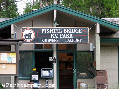 Yellowstone National Park Fishing Bridge Rv Campground