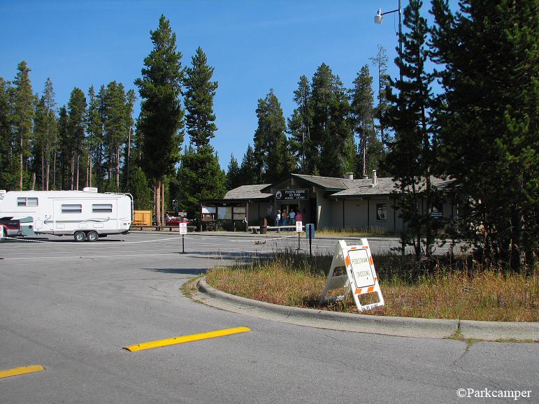 Yellowstone National Park Rv Parks >> Yellowstone National Park Fishing Bridge Rv Campground
