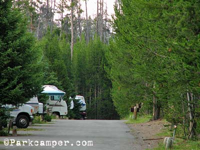 Yellowstone National Park Fishing Bridge Rv Campground