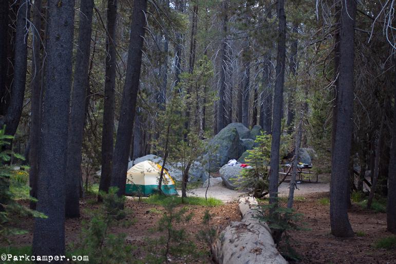 Yosemite National Park Bridalveil Creek Campground